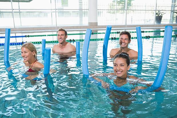 Ćwiczenia w wodzie dobre dla początkujących