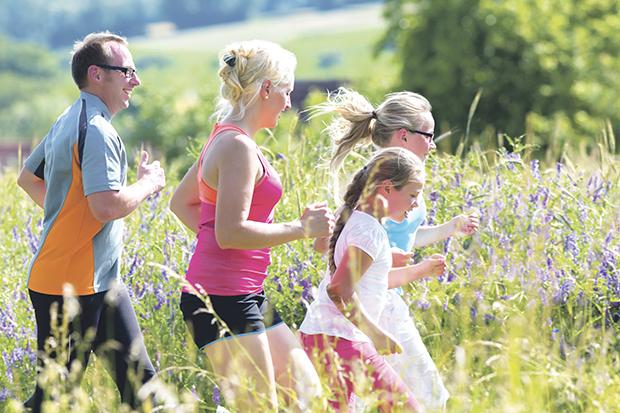 Rodzinne biegi – tu nie liczy się wynik, ale wspólna rozrywka