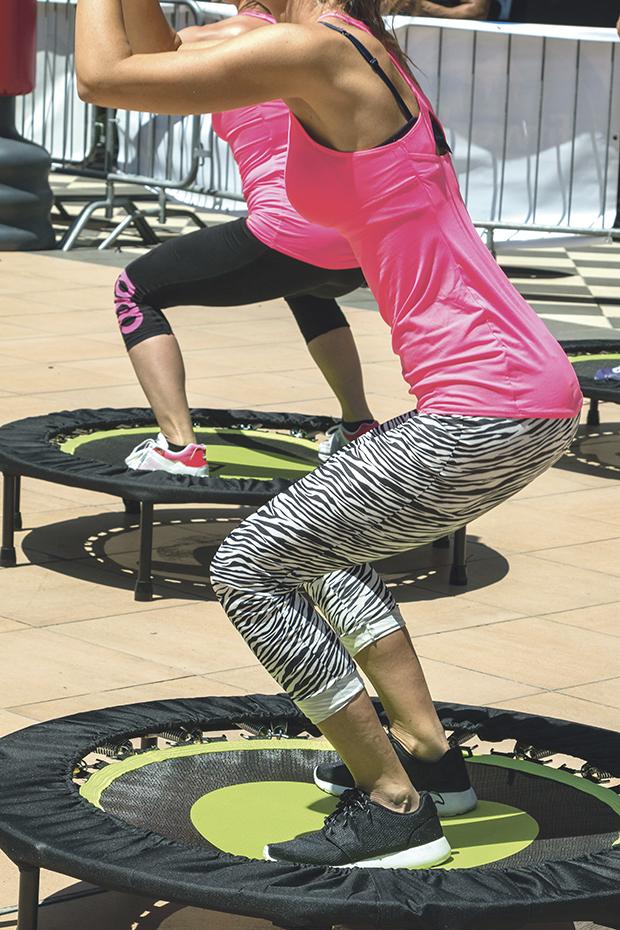 Fitness na trampolinie – polecany nawet przez NASA